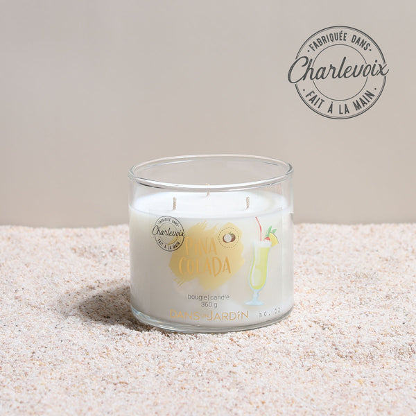 3-Wicks Candle – Pina colada