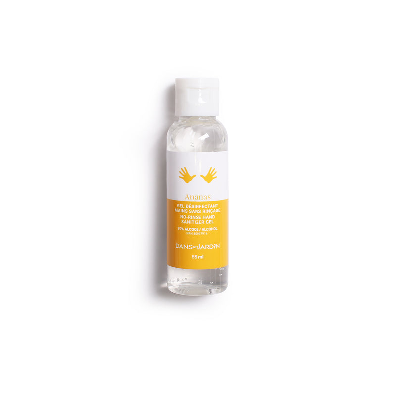 Hand sanitizing gel - Ananas - 55 ml