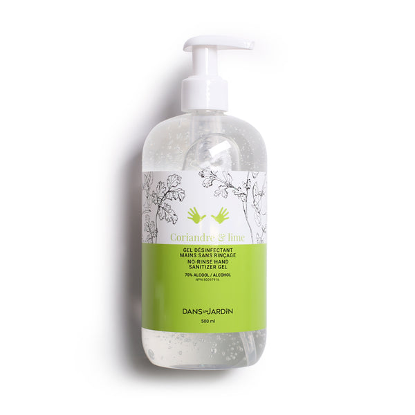 Hand Sanitizer Gel - Coriandre & lime - 500 ml