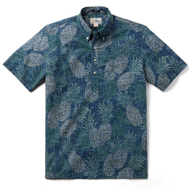 Reyn Spooner HAWAII GOLD PULLOVER in DRESS BLUES