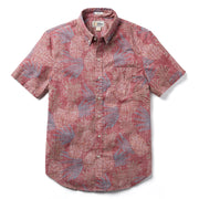 Reyn Spooner HAWAII GOLD TAILORED in EARTH RED