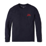 Reyn Spooner HULA HOLIDAY LONG SLEEVE TEE in NAVY