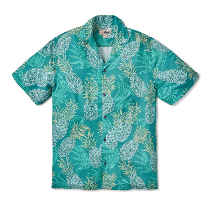 Reyn Spooner HAWAII GOLD in GREEN BLUE