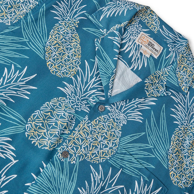 Reyn Spooner HAWAII GOLD in REAL TEAL