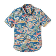 Reyn Spooner PEANUTS IN HAWAII TAILORED in DARK BLUE