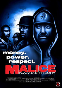 Malice: KAYOS THEORY #2 Cover C Movie Juice Poster Homage