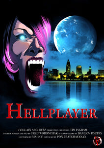 HellPlayer #1 Cover C American Werewolf in Paris Movie Variant