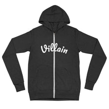 Load image into Gallery viewer, Villain Unisex zip hoodie