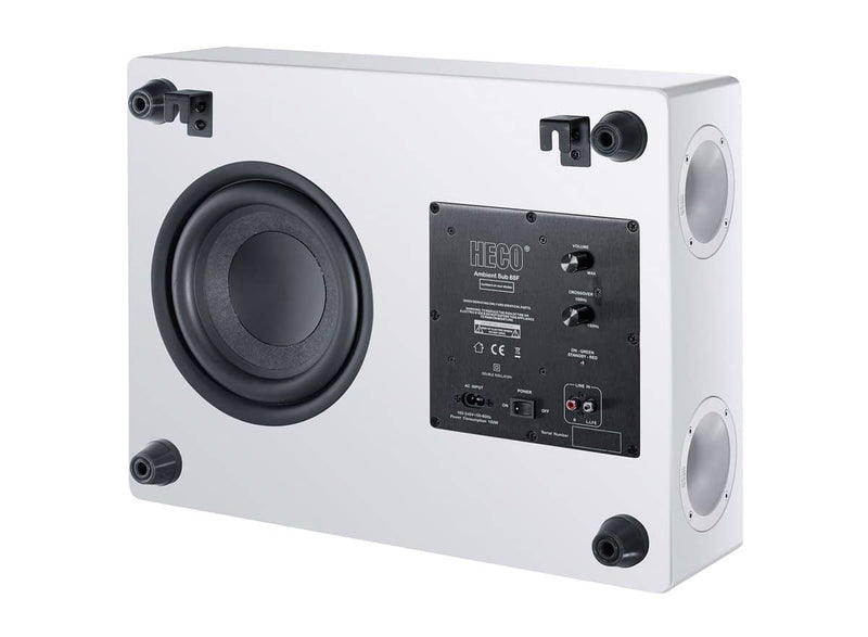 HECO Ambient 88F aktiivisubwoofer, musta Heco Heco Ambient, Kaiuttimet, Subwooferit