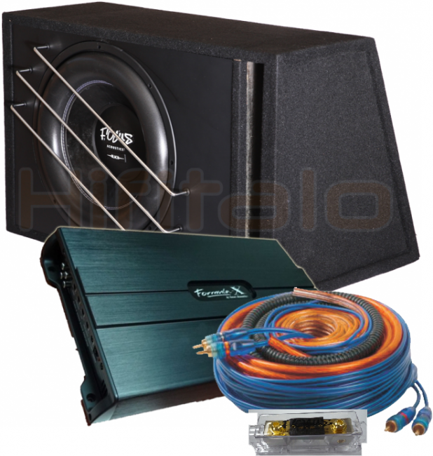 "Focus Acoustics Blackbox 15"" bundle 2500w"