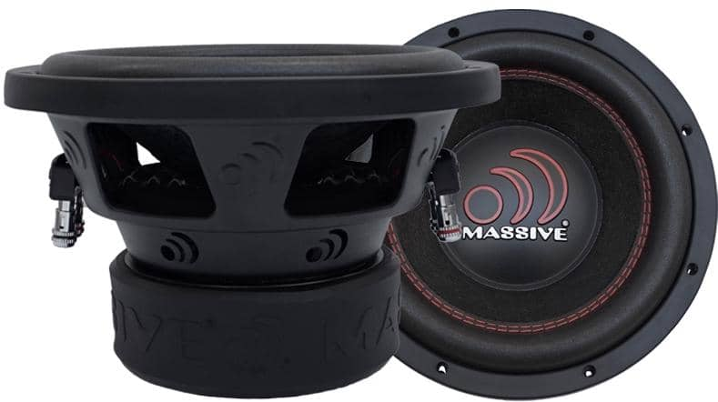 "Massive Audio GTX 64 6"" subwoofer"
