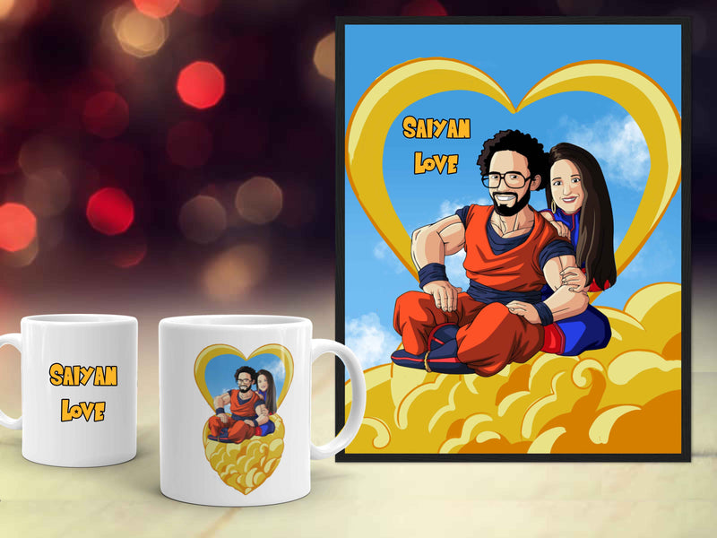 L'Offre Saint-Valentin Dragon Ball Z