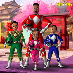 Portrait Power Rangers