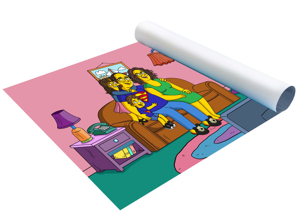 Poster Simpson