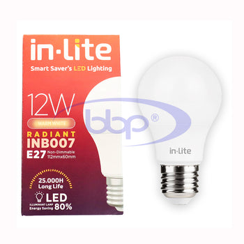 Lampu LED Inlite 12 Watt INB007