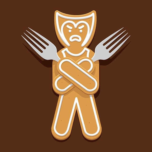 Gingerbread X-Men Glennz Concept - Glennz Tees