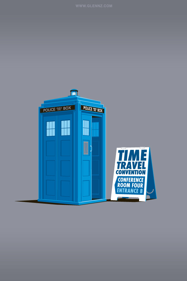 Glennz Time Travel Convention phone wallpaper