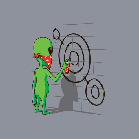 Alien Graffiti