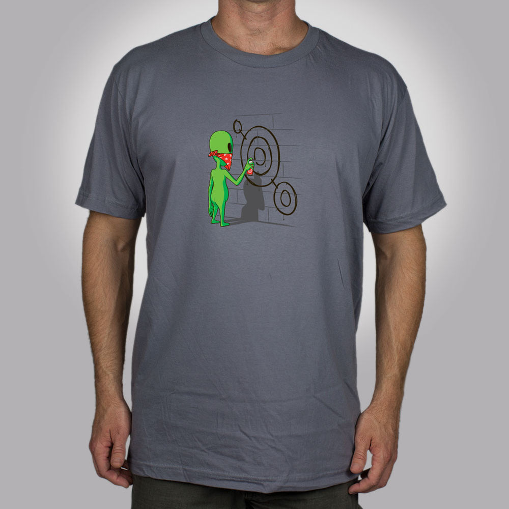 Alien Graffiti Men's T-Shirt
