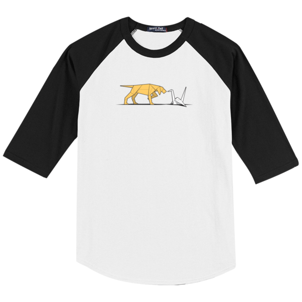 Bird Dog Raglan Baseball T-Shirt - Glennz Tees