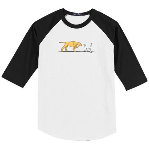 Bird Dog Raglan Baseball T-Shirt