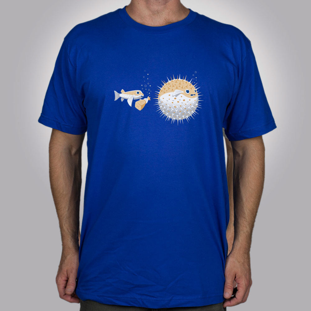 Blowfish Pranks Men's T-Shirt - Glennz Tees