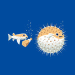 Blowfish Pranks Baby Onesie