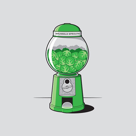 Brussels Sprout Machine T-Shirt - Glennz Tees