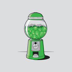 Brussels Sprout Machine Design - Glennz Tees