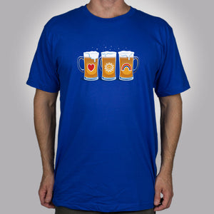 Care Beers Men's T-Shirt - Glennz Tees