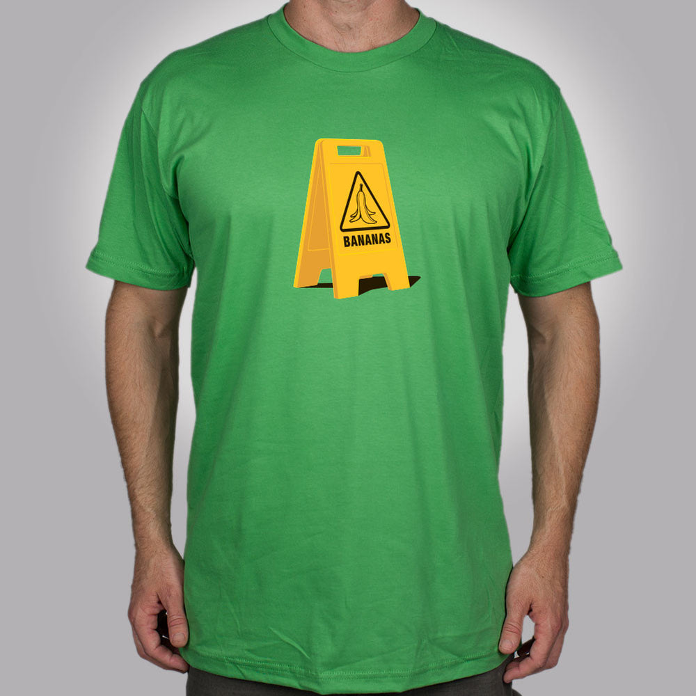 Caution Bananas T-Shirt - Glennz Tees