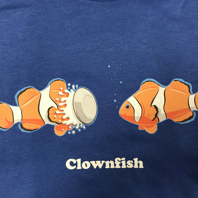 Clownfish Caption Tee