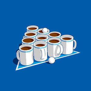 Coffee Pong T-Shirt - Glennz Tees