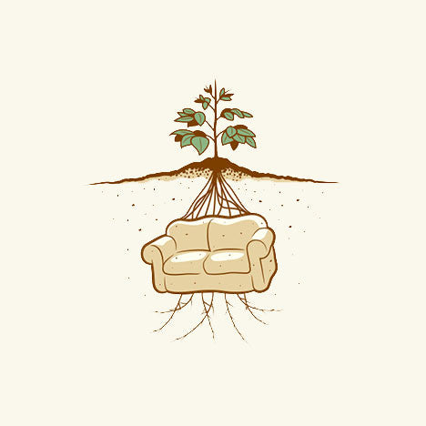 Couch Potato T-Shirt - Glennz Tees