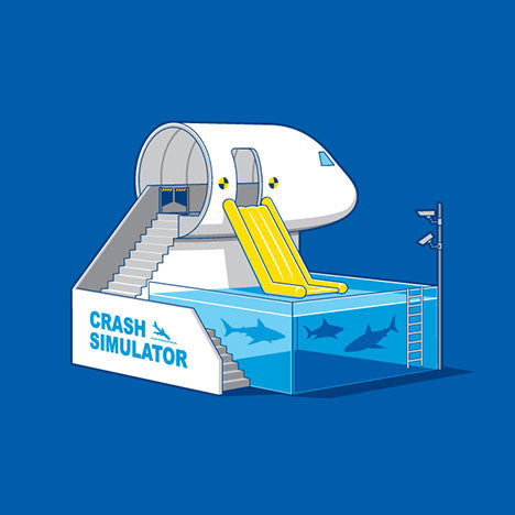 Crash Simulator T-Shirt - Glennz Tees