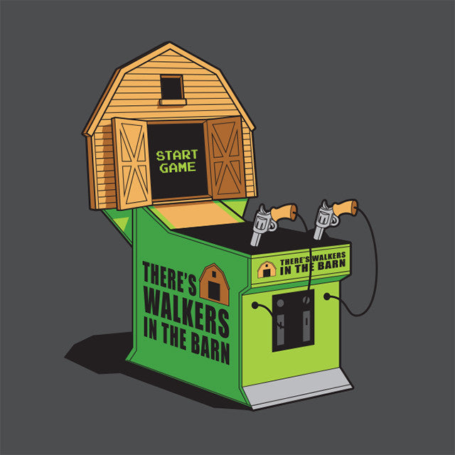 There's Walkers in the Barn Glennz Design - Glennz Tees