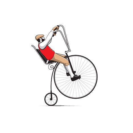 Easy Rider Penny Farthing Youth T-Shirt - Glennz Tees