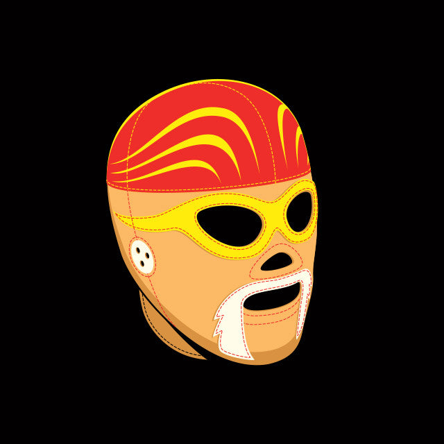 El Hulko Wrestling Mask Youth T-Shirt - Glennz Tees