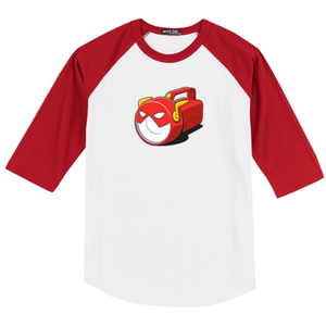 Flashlight Raglan Baseball T-Shirt - Glennz Tees