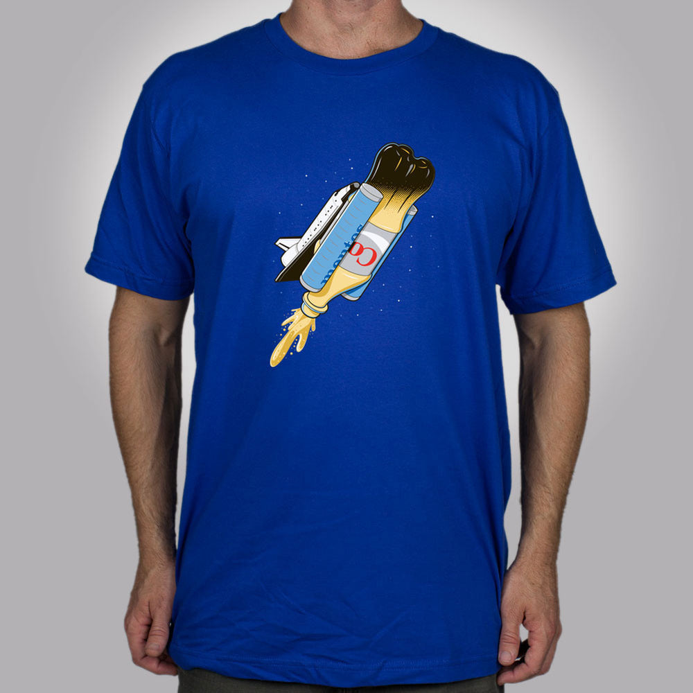 Go For Launch Men's T-Shirt - Glennz Tees
