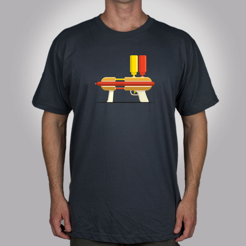 Hot Dog Hitman Men's T-Shirt - Glennz Tees