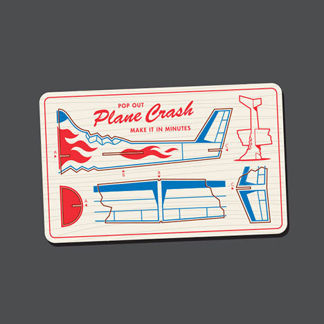 Model Plane Crash T-Shirt - Glennz Tees