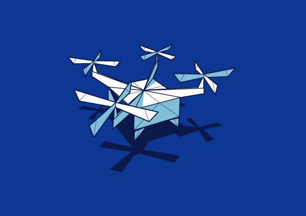 Glennz Subscription Tee - Paper Drone