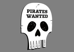 Glennz Subscription Tee - Pirates Wanted