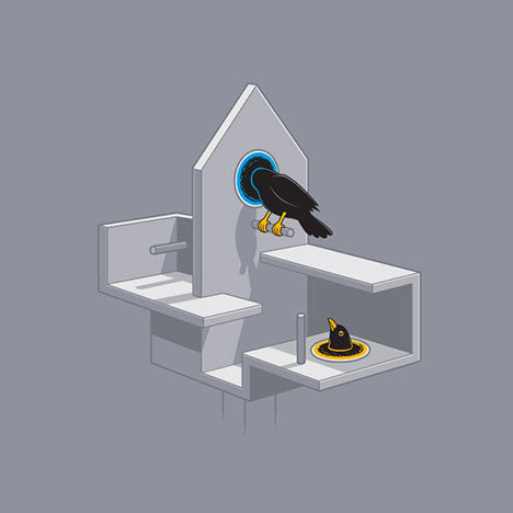 Portal Bird Women's T-Shirt - Glennz Tees
