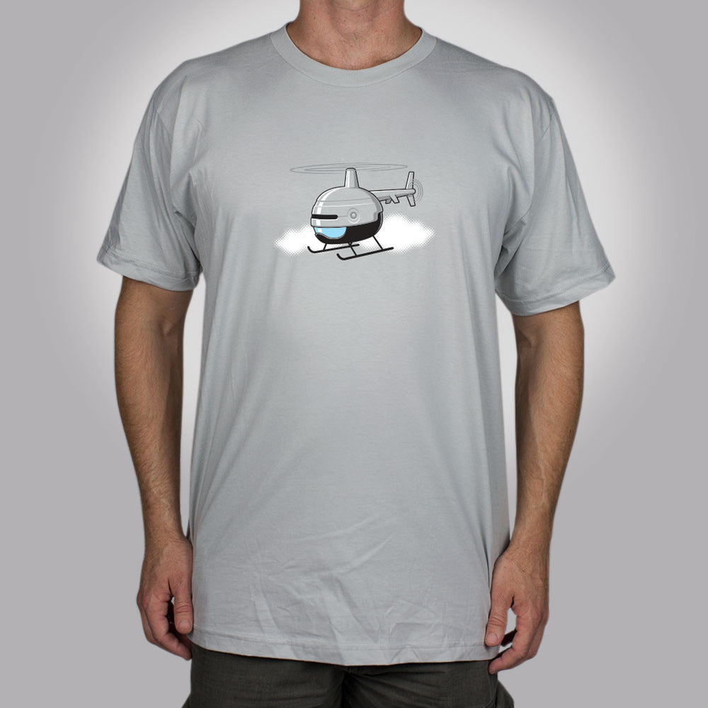 Robocopter Men's T-Shirt - Glennz Tees
