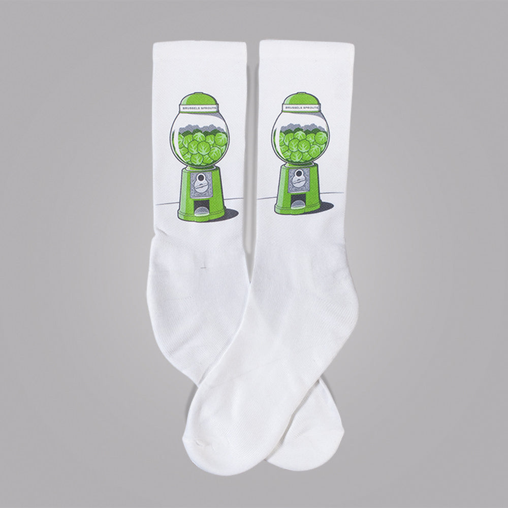 Brussels Sprout Machine Socks