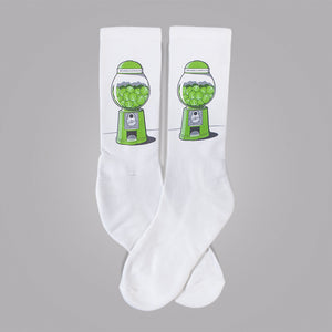 Brussels Sprout Machine Socks - Glennz Tees