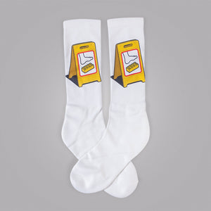 Extreme Caution Socks - Glennz Tees