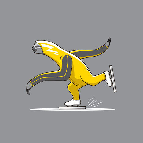 Speed Sloth T-Shirt - Glennz Tees
